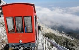 Funicular to the Fansipan