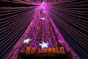 "Another ""Best Christmas tree of Europe"" now on display at Fansipan Winter Festival"